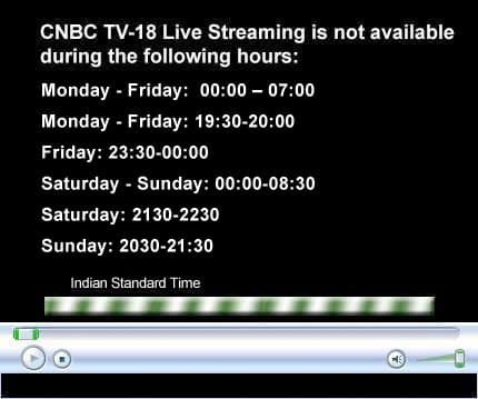 My TV : Watch CNBC-TV18 programming LIVE.