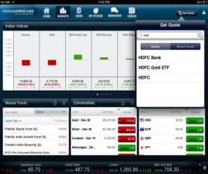 The Get Quote feature gives you quick access to all the key information on stocks and mutual funds of your choice.