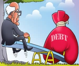 Resizing of debt