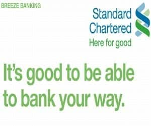 STANDARD CHARTERED IDR UP 3%