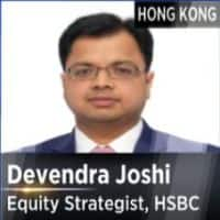 Global risk aversion is coming; Sensex may drift lower :    Devendra Joshi, Equity Strategist - Asia Pacific, HSBC