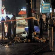 Sketches of two Pune blasts suspects prepared