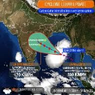 Andhra-Odisha coast on alert as Cyclone Lehar roars