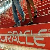 Oracle surges; strong share sale squeezes short sellers