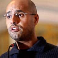Gaddafi's son appears in Libyan court for first time