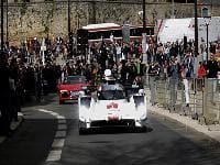 Audi R18 E-Tron Quattro unveiled on the streets of Le Mans