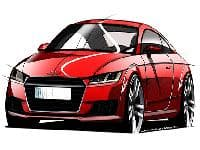 New Audi TT sketches released, debut at Geneva Auto Show