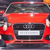 Audi posts over 8% sales growth at 10,126 units in FY14