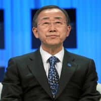 Hope India, Pak will resolve water issue themselves: Ban Ki moon