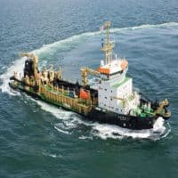 Hold Dredging Corporation; target of Rs 425: ICICI Direct