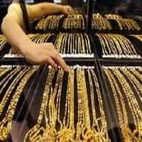 MCX Goldguinea June contract trades lower