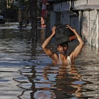 As J&K flood waters recede, civic problems come to fore