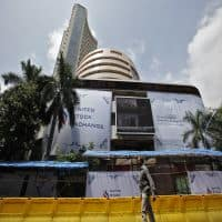 Sensex rises 97 pts post interim Budget; private banks lead
