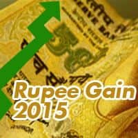 Rupee trims early gains, still up by 21 paise