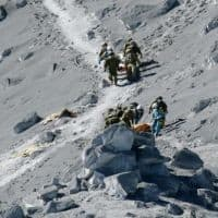 36 feared dead on Japanese volcano, search called off