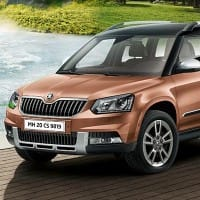 Skoda Yeti facelift launched at Rs 18.63 lakh