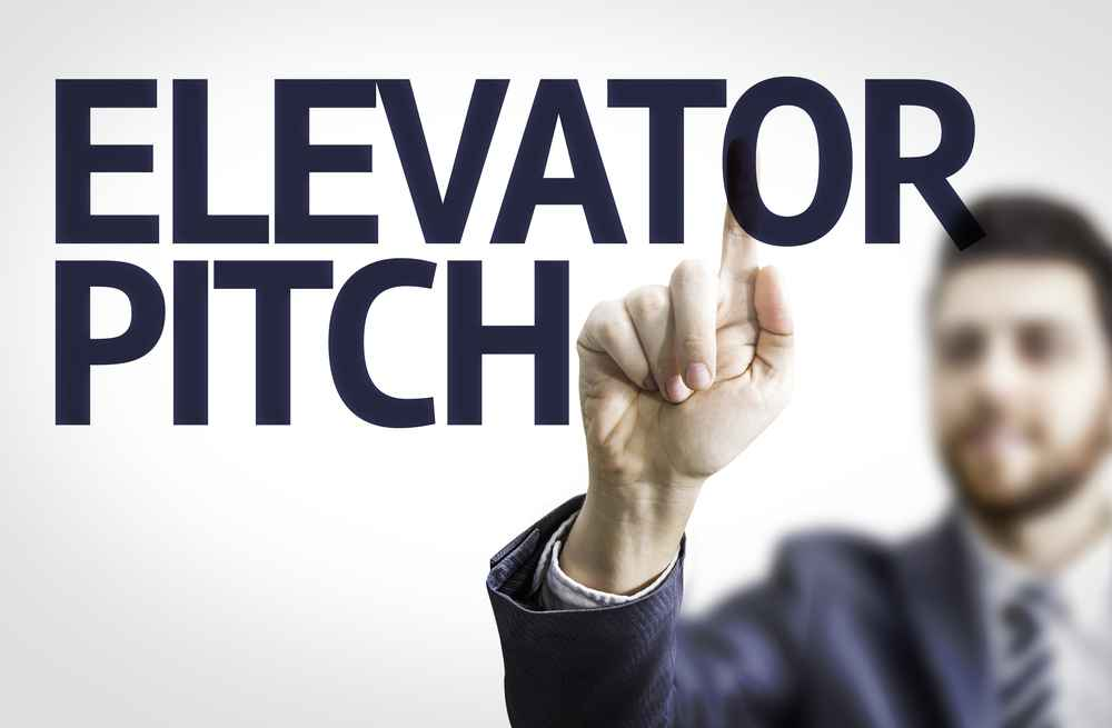 How to push right buttons during an elevator pitch