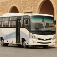 Daimler delivers first bus chassis from India to Egypt