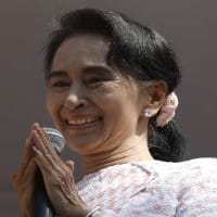 Suu Kyi says India an inspiration,hails IndoMyanmar friendship