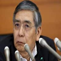 Closely watching market moves, impact on economy: BOJ's Kuroda