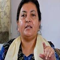 Bidhya Bhandari elected as Nepal's first female president