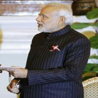 Modi dines with Fortune 500 CEOs