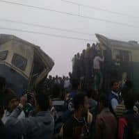 Express train collides with an EMU train in Haryana