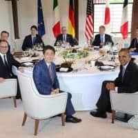 Japan PM Shinzo Abe warns of Lehman-magnitude crisis