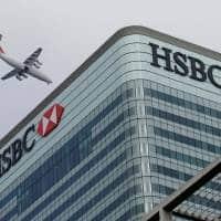 HSBC Q3 pretax profit sinks 86%