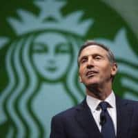 Starbucks CEO steps down to focus on high-end coffee,shares fall