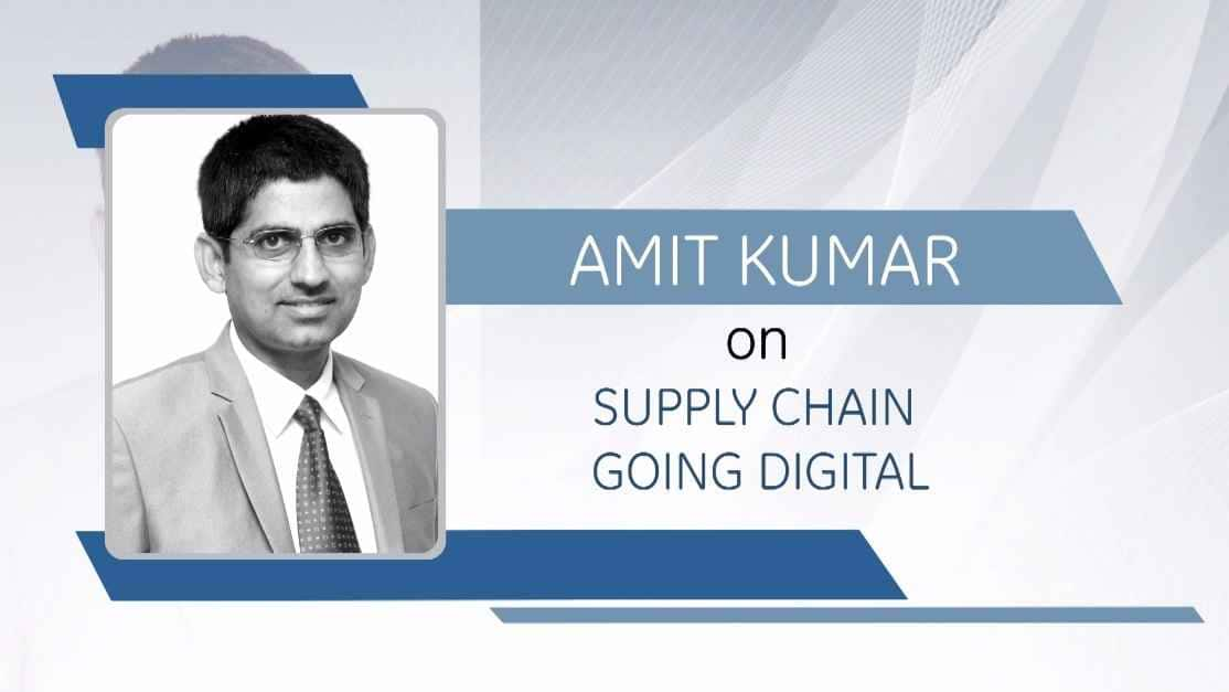 GE Step Ahead : Amit Kumar on supply chain going digital
