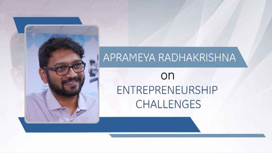 GE Step Ahead : Aprameya Radhakrishna on Entrepreneurship Challenges