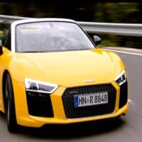 Overdrive takes the Audi R8 V10 Spider for a spin in Spain