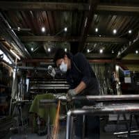 Japan July factory activity falls for 5th mth but at slower pace