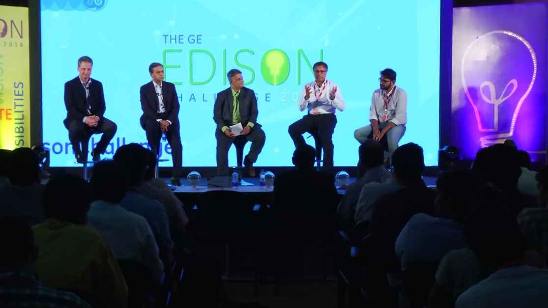 GE Step Ahead : GE Edison Challenge 2016: Panel Discussion on Ideas to Impact