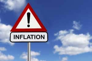 Inflation can decrease property rates
