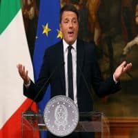 Italy's Matteo Renzi resigns, hints at early election