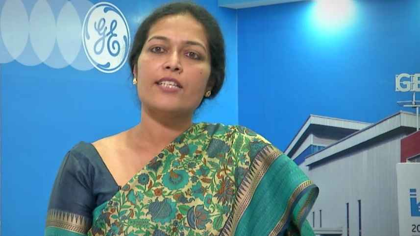 GE Step Ahead : Sukla Chandra on International Women's Day