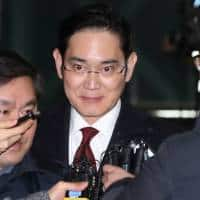 South Korea still assessing whether to arrest Samsung chief