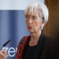Need to sustain global growth momentum: Christine Lagarde