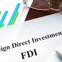 'India moving forward to become major destination for FDI'