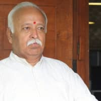 After Sena, Congress leader Sharief backs Mohan Bhagwat for President