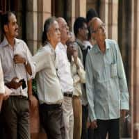 Nifty ends below 8400, Sensex in red; Reliance drags 3%, HUL up