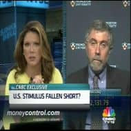 US desperately needs another big stimulus: Paul Krugman