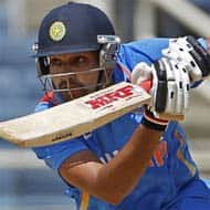 Batting, sledging, victory: A day in Rohit Sharma's life