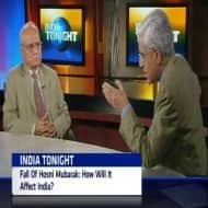 How should India respone to the fall of Hosni Mubarak?